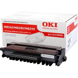 Image of   Sort lasertoner - OKI 260/280/290 - 3.000 sider