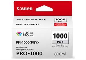 Foto grå blækpatron 1000pgy - canon - 80,0ml.