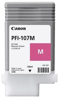 Image of   Magenta blækpatron 107M 6707B001 - Canon - 130ml.