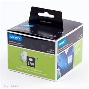 N/A – Dymo navneskilt, 41x89 mm. 300 etiketter (11356) fra printerpatroner.dk