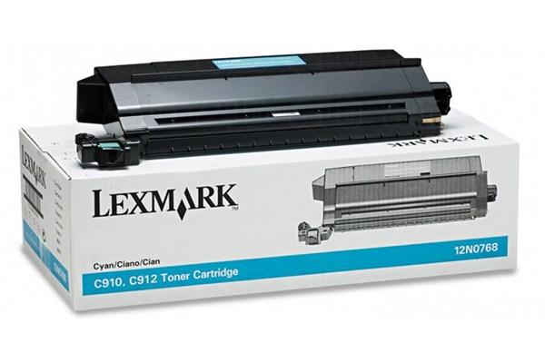 Image of   Cyan lasertoner - Lexmark N0768 - 14.000 sider