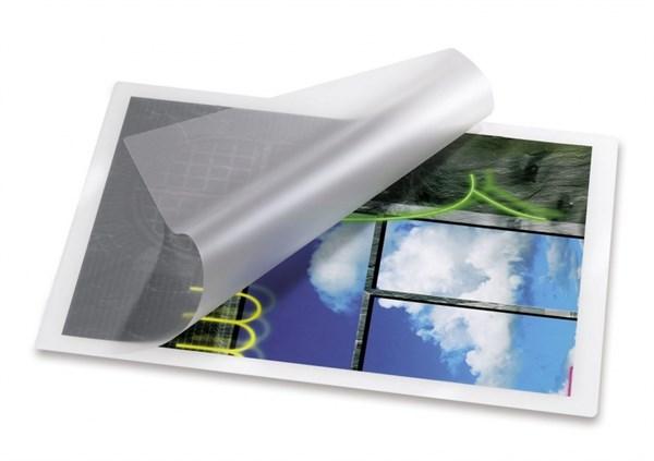 Image of   Lamineringslommer 54 x 86 mm. - 125 mic. (varm) 100 stk