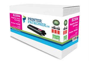Magenta lasertoner 230M - Brother TN230M - 1.400 sider.