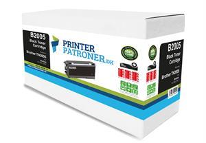 N/A Sort lasertoner - brother 2005 - 1.500 sider fra printerpatroner.dk