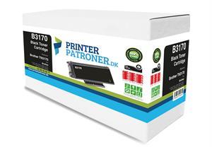 N/A Sort lasertoner 3170 - brother tn-3170 - 7.000 sider. på printerpatroner.dk