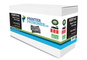 Image of   Sort lasertoner - HP nr.81X - 25.000 sider