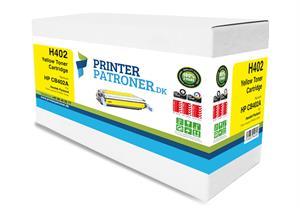 Gul lasertoner - HP nr.642A - 7.500 sider