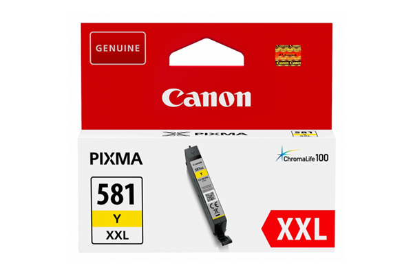 Image of   Gul blækpatron 581XXLY - Canon - 11,7 ml