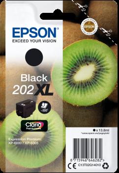 Sort blækpatron 202XL - Epson - 5,6ml.