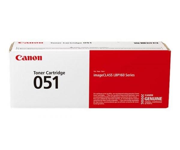 Image of   Sort lasertoner CRG-051 - Canon - 1700 sider.