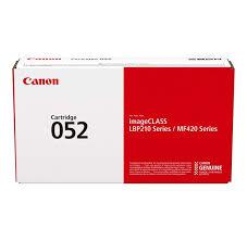 Image of   Sort lasertoner CRG-052 - Canon - 3.100 sider.