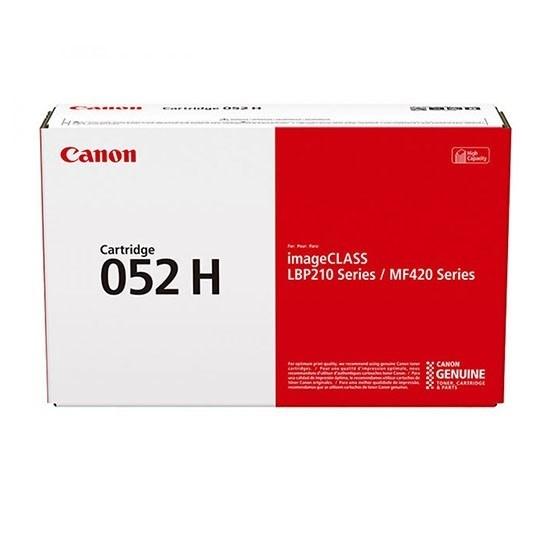 Image of   Sort lasertoner CRG-052H - Canon - 9.200 sider.
