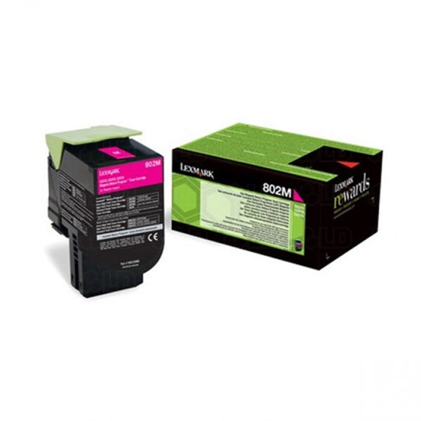 Image of   Magenta lasertoner - Lexmark 24B6009 - 3.000 sider