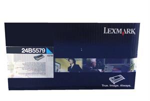 Image of   Cyan lasertoner - Lexmark 24B5579 - 12.000 sider