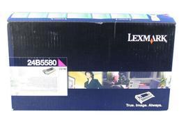 Image of   Magenta lasertoner - Lexmark 24B5580 - 12.000 sider