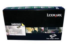 Image of   Gul lasertoner - Lexmark 24B5581 - 12.000 sider