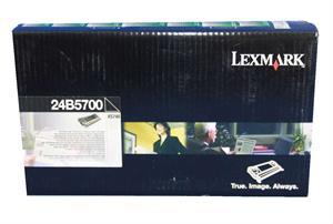 Image of   Sort lasertoner - Lexmark 24B5700 - 12.000 sider
