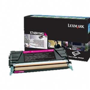 Image of   Magenta lasertoner - Lexmark 24B5702 - 10.000 sider