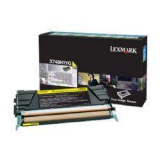 Image of   Gul lasertoner - Lexmark 24B5703 - 10.000 sider