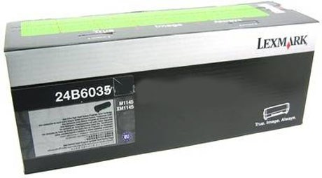 Image of   Sort lasertoner - Lexmark 24B6035 - 16.000 sider