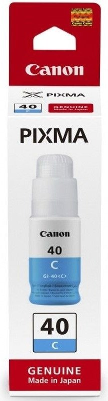 Image of   Cyan blæk - Canon 3400C001 GI-40 - 7700 sider
