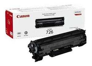 Image of   Sort lasertoner - Canon 726 -