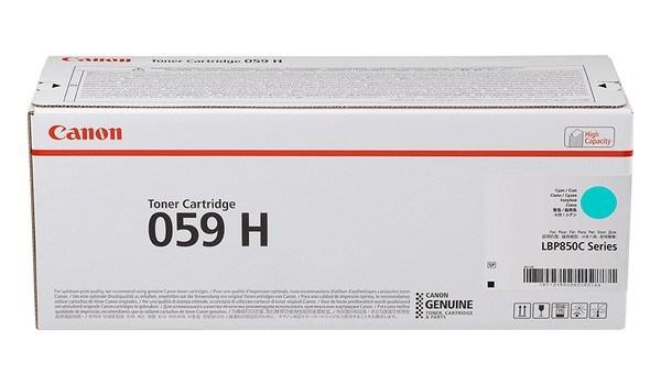 Image of   Cyan lasertoner 059H - Canon - 13.500 Sider.