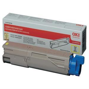 Image of   Gul lasertoner 33/34 mf - OKI - 1.500 sider.