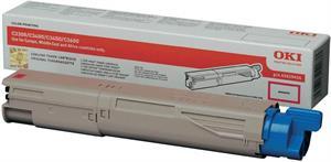Magenta lasertoner 33/34 mf - OKI - 1.500 sider.