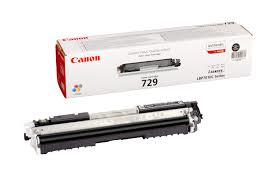 Image of   Sort lasertoner 729BK - Canon - 1.200 sider.