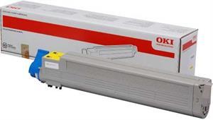 Gul lasertoner C9655 - OKI - 22.000 sider.
