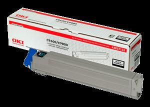 Sort lasertoner C9655 - OKI - 22.500 sider.