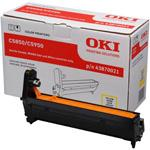 Image of   Gul tromle 5850/5990 - OKI original -
