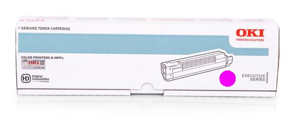 Image of   Magenta lasertoner - OKI 44059258 - 9.000 sider