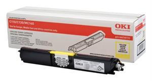 Image of   Gul lasertoner 110/130 mf. - OKI - 2.500 sider