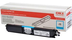 Cyan lasertoner 110/130 mf. - OKI - 2.500 sider