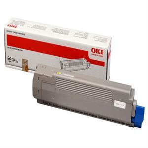 Image of   Gul lasertoner C801 - OKI - 7.300 sider