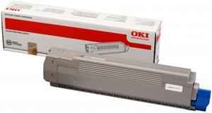 Image of   Sort lasertoner C801 - OKI - 7.000 sider