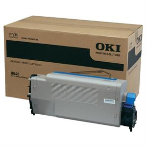 Image of   Sort lasertoner 840 - OKI - 20.000 sider