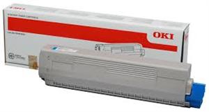 Image of   Cyan lasertoner C822 - OKI - 7.300 sider