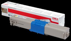 Gul lasertoner C301 - OKI - 1.500 sider