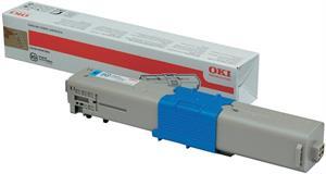Cyan lasertoner C301 - OKI - 1.500 sider