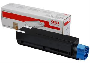Image of   Sort lasertoner B401 - OKI - 1.500 sider