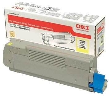 Image of   Gul lasertoner - OKI 46490605 - 6.000 sider