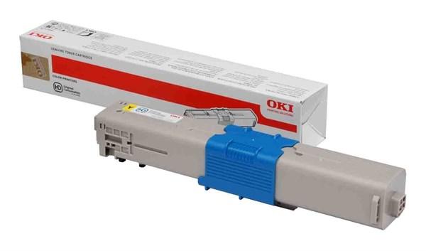 Image of   Gul lasertoner - OKI C332 - 3.500 sider