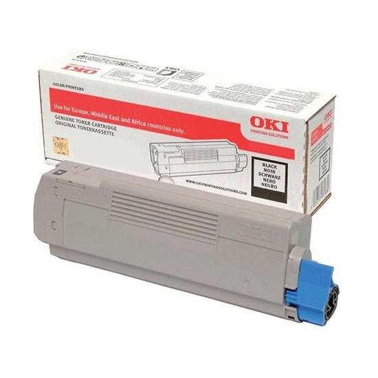 Sort Lasertoner - Oki C332 - 3.500 Sider Originale Lasertoner