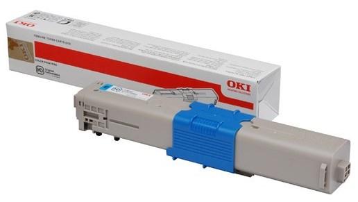 Image of   Cyan lasertoner - OKI C332 - 1.500 sider