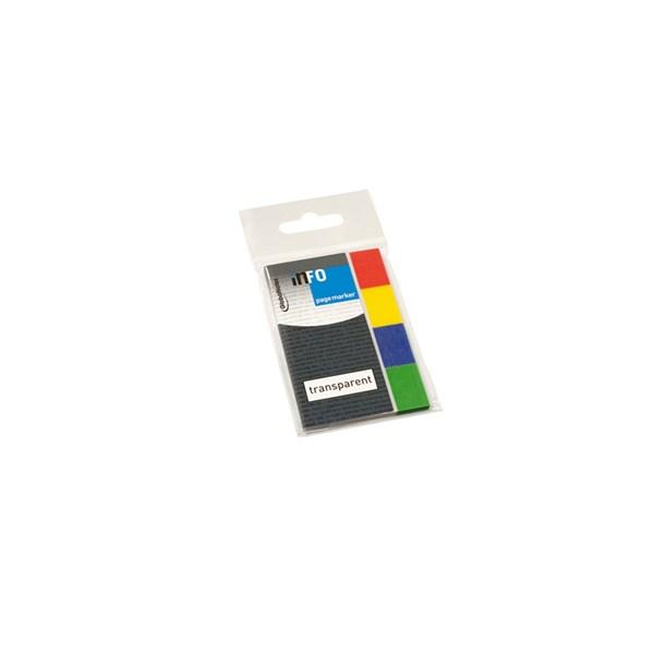 Indexfaner info 4 farver 20x50mm 4x40stk.