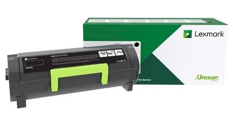 Image of   Sort lasertoner - Lexmark 56F0UA0 - 25.000 sider