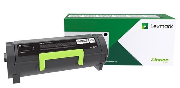 Image of   Sort lasertoner - Lexmark 58D2H00 - 15.000 sider